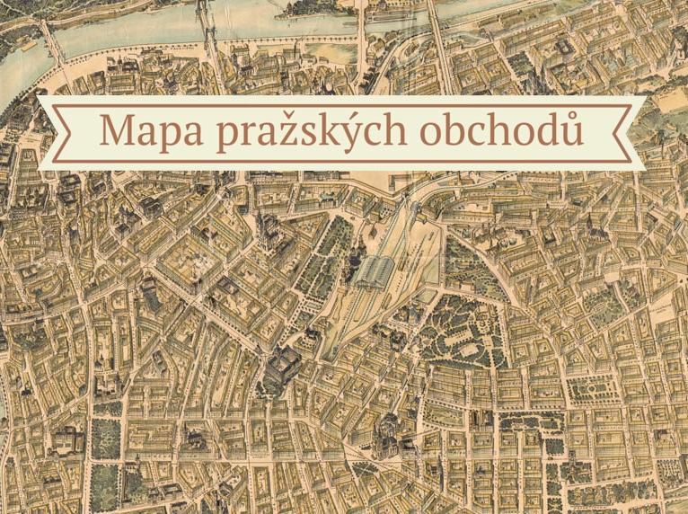 Mapa pražských obchodů