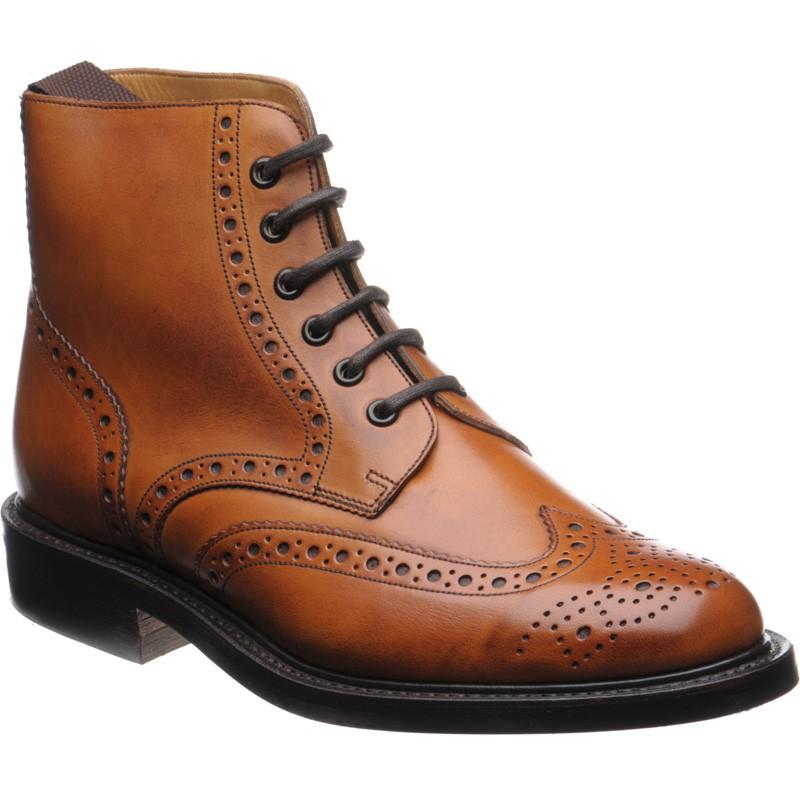 Takto vypadají nové Barker Harrison z Herring Shoes.