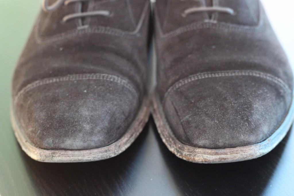 Boty před vyčištěním I