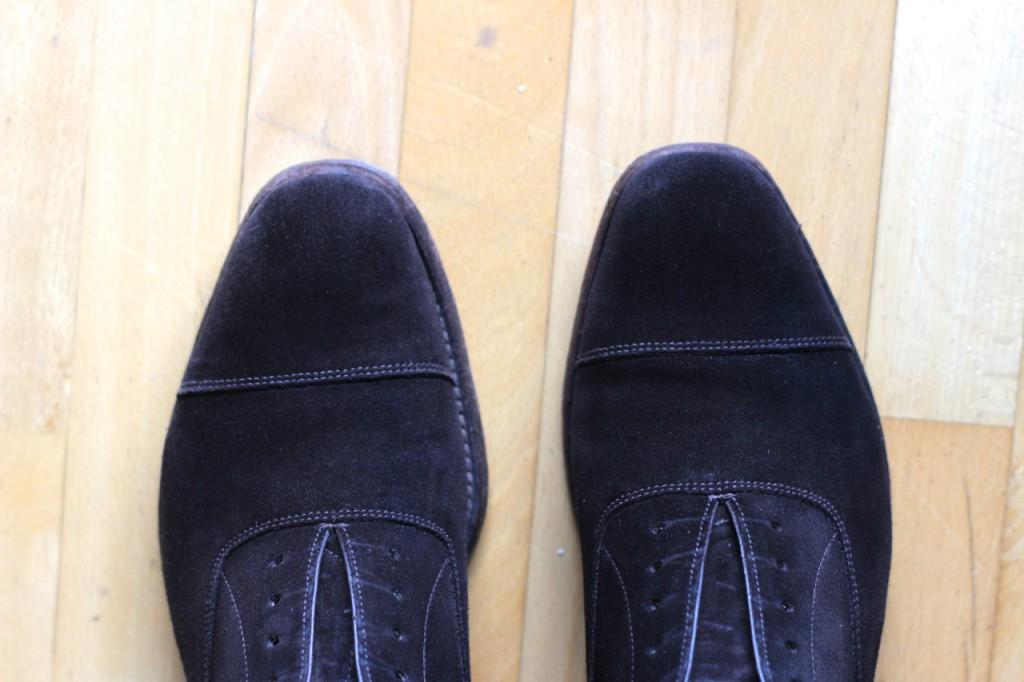 Vyčištěné boty I