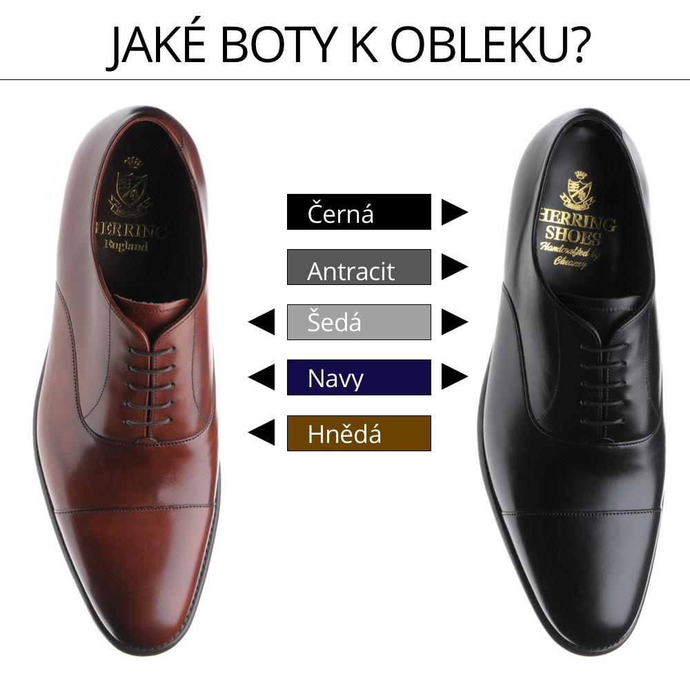Jak ladit barvu obleku a bot – Pravý Gentleman ebb03b73a6