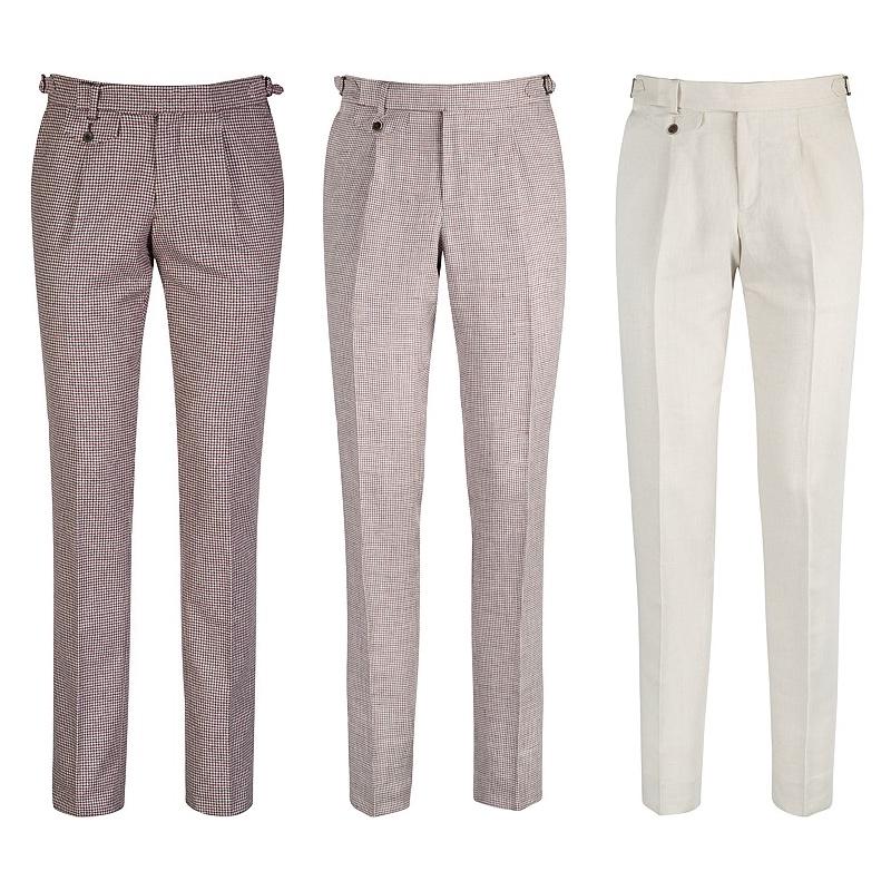 Kalhoty od Suitsupply, modely B408, B354 a B401