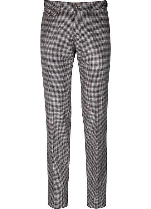 Šedé vlněné kalhoty od Suisupply, 129 EUR