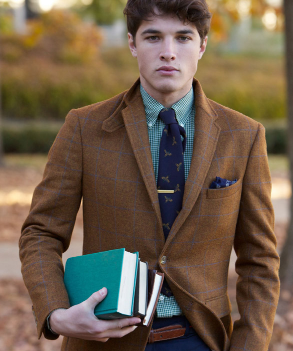 Button-down límec. Ivy League Style. Zdroj: http://ivy-league-style.com/